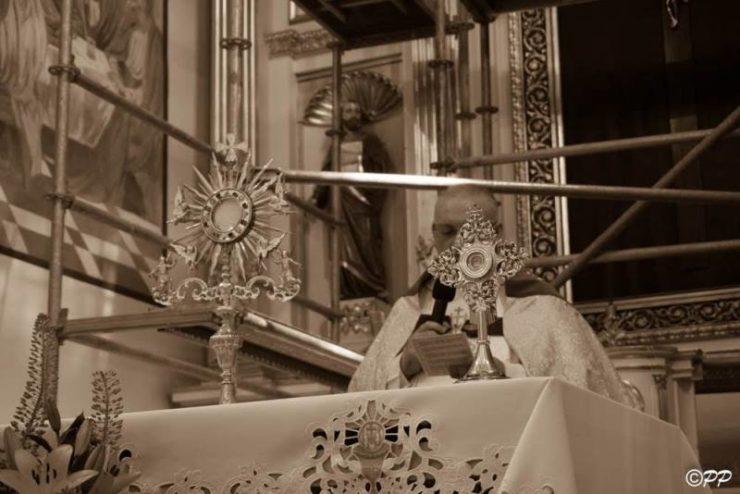 odpust ku czci św. Antoniego w parafii pw. Podwyższenia Krzyża Świętego w Adamowie
