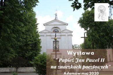 Wystawa Papież Jan Paweł II na znaczkach pocztowych