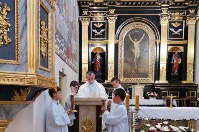 Odpust ku czci Św. Antoniego w parafii w Adamowie
