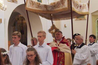 Odpust Podwyższenia Krzyża Świętego w Adamowie