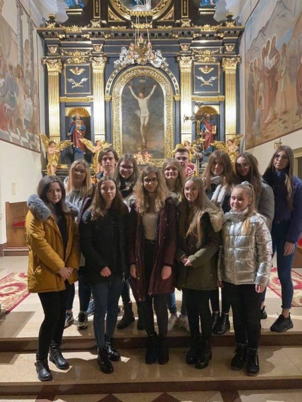 Schola młodzieżowa parafii Adamów